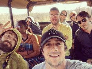 Game Drive, Friends, Fun,Safari,Africa,Smiles,Big 5. Elephant